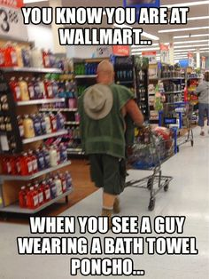 Here is awesome photo collection of funny people that grace us with their presence at Wal-Mart. Don't miss funny people of Walmart. Funny Walmart People, Funny Walmart Pictures, Walmart Shoppers, Go To Walmart, Only At Walmart, Funny People, Funny Photos, Walmart Humor, Funny Things