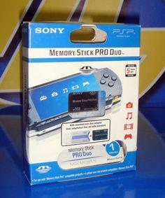 MEMORY STICK PRO DUO PSP 1 GB NUEVA