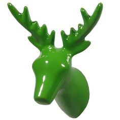 Wall Hook Dear Deer green