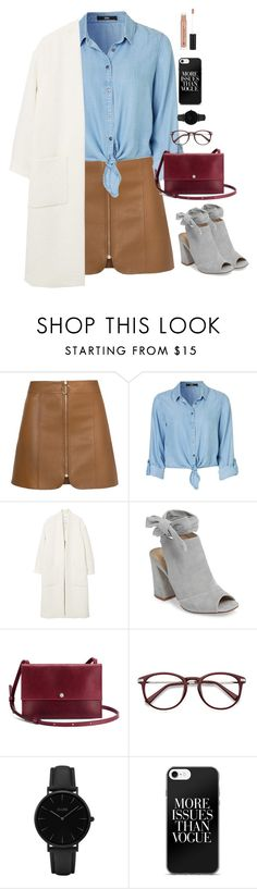 """""""She is a Dreamer"""" by xoxomuty ❤ liked on Polyvore featuring MANGO, Kristin Cavallari, Shinola, CLUSE, Anastasia Beverly Hills and polyvoreOOTD"""
