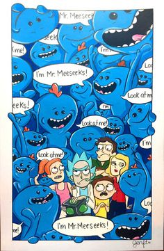 Rick et Morty – Une exposition en hommage au meilleur cartoon de tous les temps