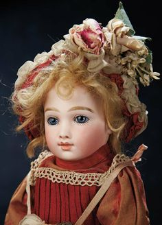 Very Endearing French Bisque Bebe A.T. by Thuillier 27,000/33,000