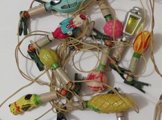 Christmas Light Bulbs, Vintage Christmas Ornaments, Random, Art, Christmas Bulbs, Art Background, Kunst, Performing Arts, Casual