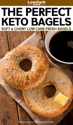 - Easy low carb keto bagels recipe (gluten-free) topped with everything bagels seasoning or sesame seeds. These are the best homemade breakfast keto bagels! bagels breakfast Easy low carb keto bagels recipe (gluten-free) topped with everything Keto Bagels, Low Carb Bagels, Gluten Free Bagels, Keto Diet Breakfast, Homemade Breakfast, Breakfast Recipes, Breakfast Ideas, Breakfast Gravy, Breakfast Hash