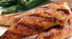 Recipe for Unbelievable Grilled Chicken Tenders. Perfect for the indoor George Foreman Grill. Have you tried this? Seriously... make it. Just make it. It's easy and you'll love it.