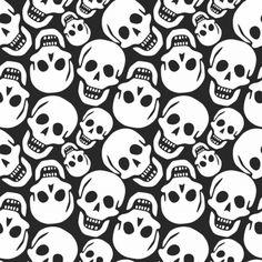 : Skulls sample, summary seamless texture, vector artwork illustration Vector Serigrafia Obtain Art And Illustration, Goth Wallpaper, Macabre Art, Creepy Art, Scary, Seamless Textures, Texture Vector, Skull Art, Background Patterns
