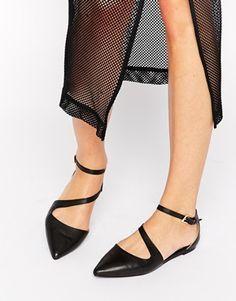 ALDO Civitate Strap Point Flat Shoes