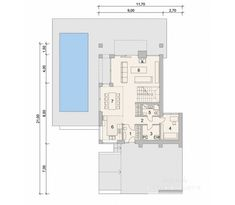 Проект дома LK&1346 Habitats, House Plans, Floor Plans, How To Plan, Modern House Facades, House Siding, Trendy Tree, House Floor Plans, Floor Plan Drawing