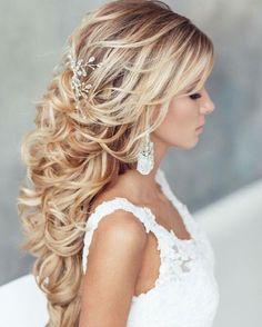 """""""Sugestão de penteado! Amei e vcs?? #universodasnoivas #noiva #wedding #casamento #casamentos #penteado #hair"""""""