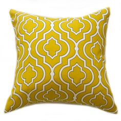 Golden lattice outdoor cushion cover - Image Golden lattice