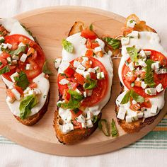 Fast Idea of the Day: Open-Face Caprese