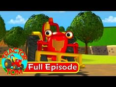 Tractor Tom - 01 Ringtone (full episode - English) | KidsTube.Video Best Kids Cartoons, Cartoon Kids, Farm Songs, Cartoon Movies, Full Episodes, Good Company, Tractors, Toms, Children