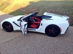 The 2014 Stingray owned by Jake Owen. Affordable Sports Cars, Exotic Sports Cars, Lifted Ford Trucks, Pickup Trucks, Custom Muscle Cars, Street Racing Cars, Top Cars, Chevrolet Corvette, Sport Cars