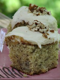 Best Ever Banana Cake with Cream Cheese Frosting   food.com