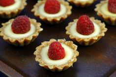 Raw Lemon Tartlets