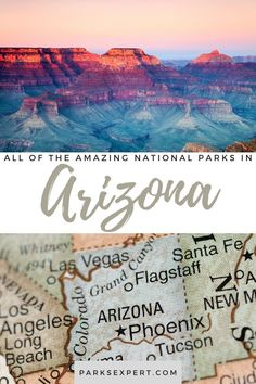 Did you know there are 22 national parks in Arizona? Click here for the list, including things to do and how to get to each of the Arizona national parks.