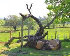 Natural Play structures