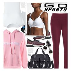 A fashion look from March 2017 featuring Lands' End t-shirts, NIKE sports bras and Dune sneakers. Browse and shop related looks.