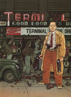 hard boiled comic | Frank Miller's HARD BOILED Is Getting a Feature Film Adaptation ...