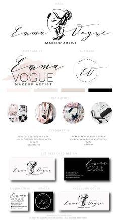 Makeup Logo Design Lashes Logo Design Makeup Artist Branding