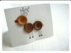 Button Reindeer