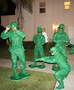 Group costume ideas - Homemade Toy Story Soldiers Costume