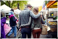 love the shot from behind with our arms around each other :)