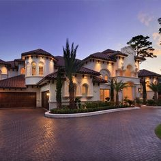 Mediterranean mansion!