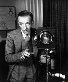 Fred Astaire in Carefree, 1938