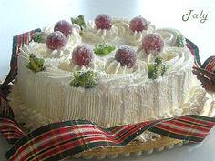 """TORTA EFFETTO """"GELO"""" - Archivi  #Torta decorata con #panna e #frutta brinata"""