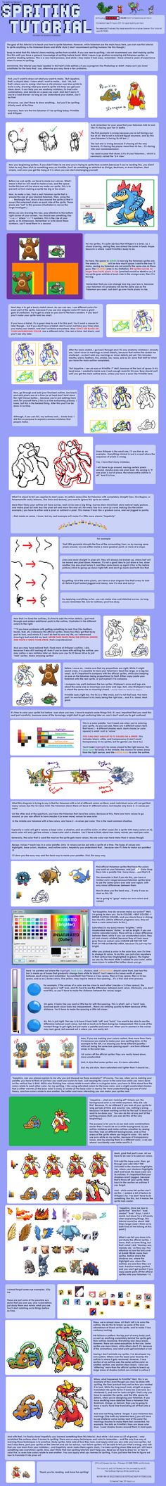 Spriting Fakemon Tutorial V.3 by The-Godlings-Rapture.deviantart.com on @DeviantArt