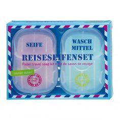 moses. Verlag Fernweh Reiseseifenset | design3000.de Design3000, Shops, White Out Tape, Office Supplies, Soap, Viajes, Gifts, Tents, Retail