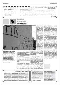 Diseño editorial Contratapa periódico Prensa Regional Nº 34 Alcorta, agosto 2014