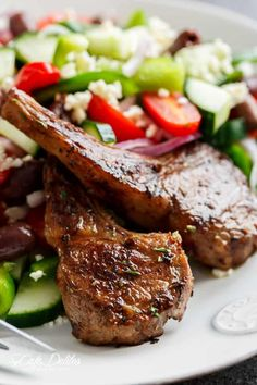 Whether roasted, seared, or grilled, our best lamb chops and leg of lamb​ recipes prove that there are so many ways to make lamb, for Easter dinner or any night of the week. Lamb Chops Oven, Roasted Lamb Chops, Grilled Lamb Chops, Lamb Cutlets Oven, Lamb Cutlets Recipe, Chops Recipe, Olives, Barbecued Lamb, Spareribs Recipe