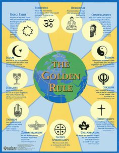 I find this sad, if all the religions state some form of the golden rule why can't we all simply fallow?