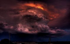 """""""The Cloud of Darkness,"""" Silver City, NM"""