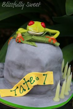 Froggy Cake.
