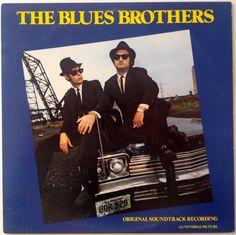 The Blues Brothers - Original Soundtrack Recording LP Vinyl Record Album, Atlantic - SD 16017, Soul, Blues Rock, 1980, Original Pressing