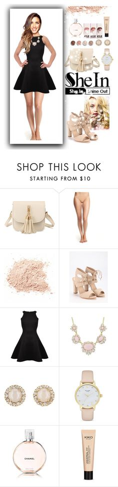 """""""shimmer with shein"""" by moonlightprinces on Polyvore featuring Calvin Klein Underwear, Ted Baker, Kate Spade, Chanel and Terre Mère"""