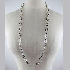 Vintage Simple Silver Necklace DC7N501 $1.75