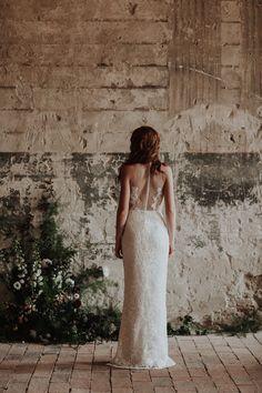 The Destiny / Nora Sarman Bridal / photo Pinewood Weddings Bridal Lace, Bridal Gowns, Wedding Dresses, Civil Ceremony, Little White Dresses, Bridal Outfits, Bridal Collection, Golden Age, Destiny