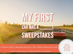 Penske Automotive Group My First Car Sweepstakes (ends 9/30)