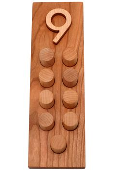Young Minds At Play - Number Counting Boards 0-10