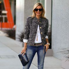 Big gold buttons   Jacket-Society-Our-Chanel-Inspired-Coco-Boucle-Jacket-feat