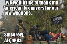 Even terrorists send thank-you notes.  obama needs to be sent to Gitmo, with his fellow terrorists!!