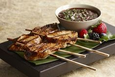 Mixed Berry Barbecue Chicken Skewers recipe at Food and Wine Festival in EPCOT at Disney World