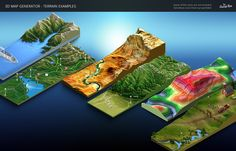 World 3d map generator generators 3d and photoshop 3d map generator terrain from heightmap by orangebox graphicriver affiliate gumiabroncs Gallery