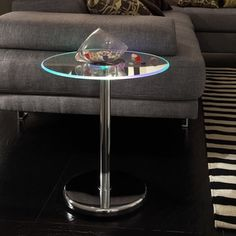 Lorin LED Round Dining Table by INSPIRE Q | Overstock.com Shopping - The Best Deals on Dining Chairs