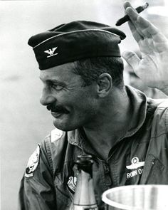The mustachioed West Pointer and retired Brigadier General was asked for his insights on the role of Flight Commander.