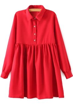 Red Long Sleeve Breasted Dress: http://www.zaful.com/red-long-sleeve-breasted-dress-p_3147.html?lkid=180